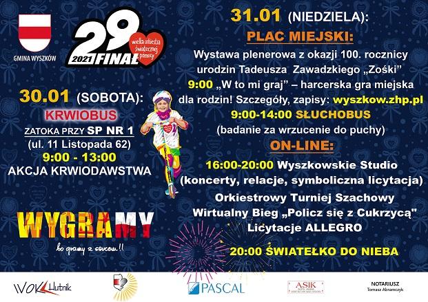 29 Final Wielkiej Orkiestry Swiatecznej Pomocy Miasto Wyszkow